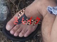 男性の性感帯の足