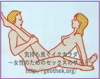 獅子舞(脚肩掛け座位)