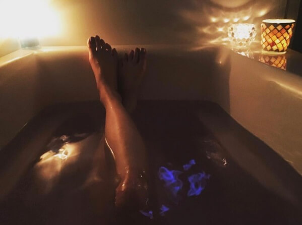 お風呂オナニーにおすすめのキャンドルの灯り