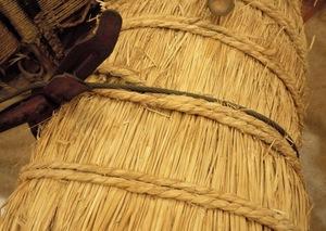名器『俵締め』が名付けられた米俵