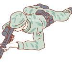【床オナ】男の擦り付けオナニー