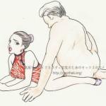 セックスの体位48手【1】裏八.裾野(すその)