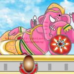 女がイクとピンクの象が見える!?