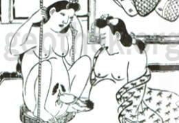 セックスの48手【2】恋のむつごと四十八手:其の24.釣上(つりあげ)