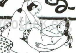 セックスの48手【2】恋のむつごと四十八手:其の30.両足上(りやうあしあげ)