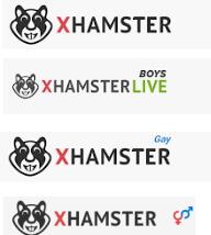 海外の無料アダルト動画サイトxhamsterのロゴ