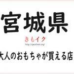 【宮城県の大人のおもちゃ店23店舗】アダルトグッズを安心安全最安値で買うならココ!