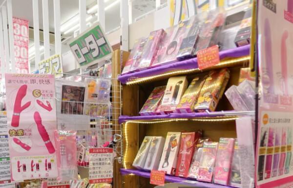 新潟県で女性用大人のおもちゃが買える店 安市 女池店の店内画像