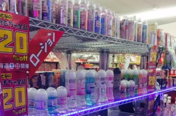 山梨県で大人のおもちゃが買える店ブックジョイ南アルプス店の店内画像