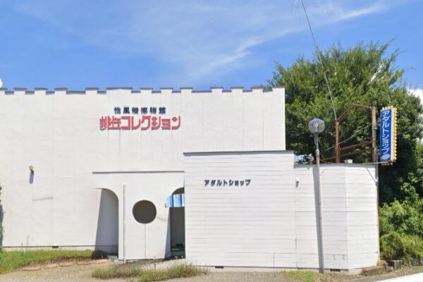 山梨県の性風俗博物館 桃丘コレクションと大人のおもちゃ店