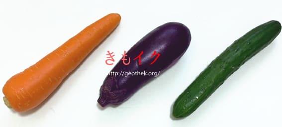 ディルド代わりになる野菜