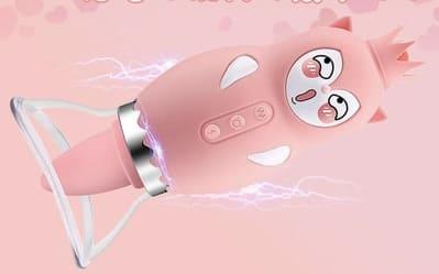 ピンクのバイ菌マンみたいな可愛いローター