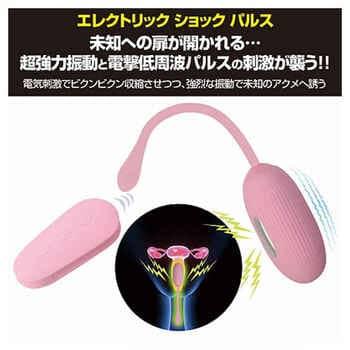 電流と振動で気持ちいいオーガズムに導く膣トレグッズ プリティラブ エレクトリックショックパルス